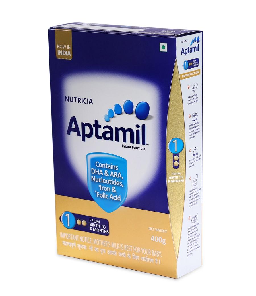 Aptamil Stage 1 Infant Formula Powder - 400gm Refill