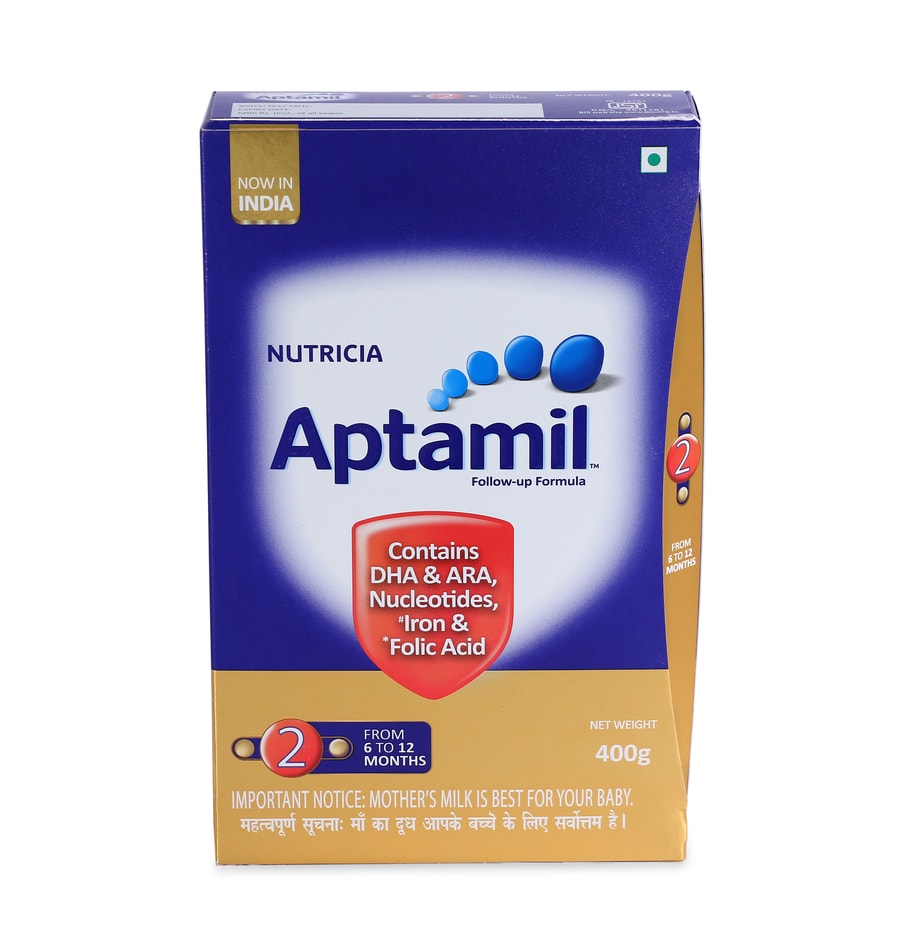 Aptamil Stage 2 Follow Up Formula Powder - 400gm Refill