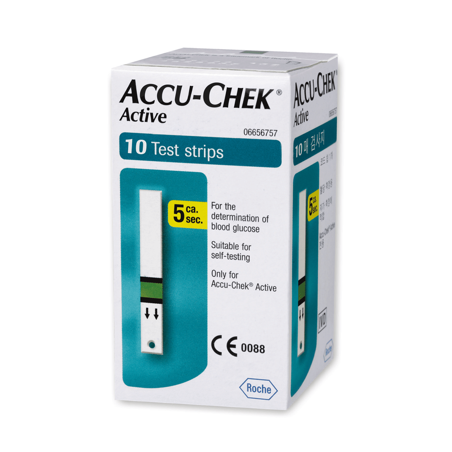 Accu-chek Active - 10 Strips