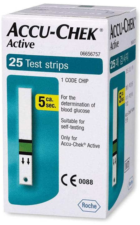 Accu-chek Active 25 Strips