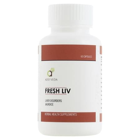 Fresh Liv - For Liver Disorders And Jaundice 60 Capsules