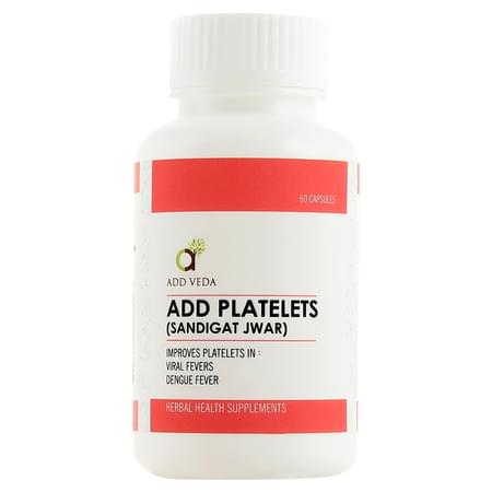 Add Platelet Viral Fever,dengu Cap 60's