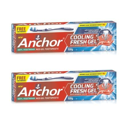 Anchor Cooling Fresh Gel Paste - Pack Of 2 - 150gm X 2