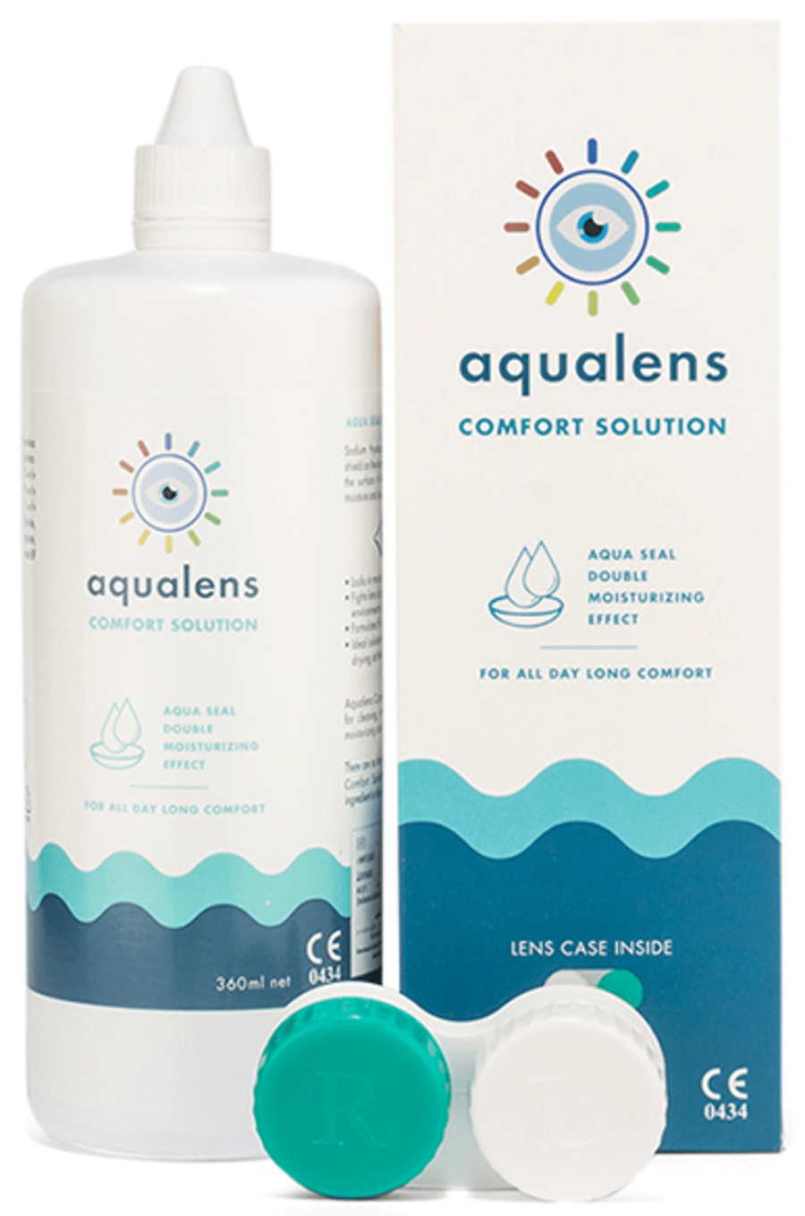 Aqualens Comfort Contact Lens Solution 360 Ml