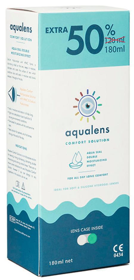 Aqualens Comfort Contact Lens Solution 180 Ml