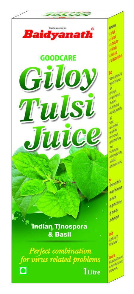 Baidyanath Giloy Tulsi Juice - 1 Ltr