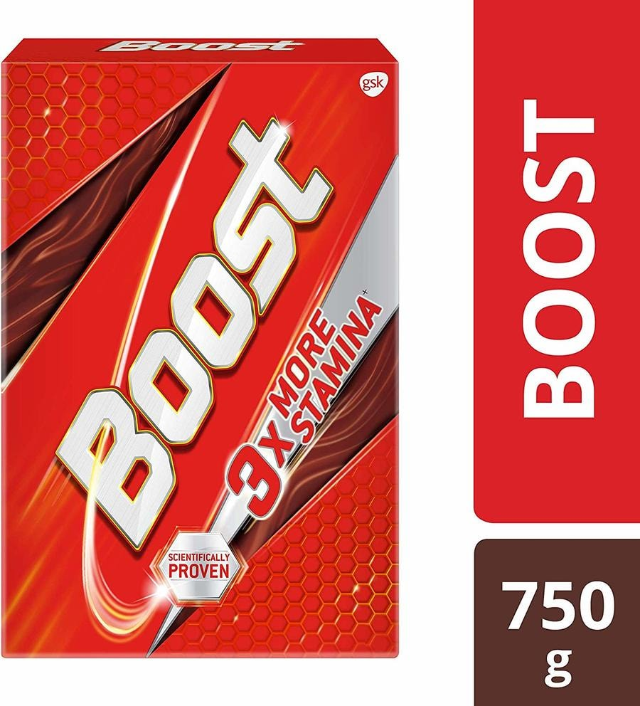 Boost - Health, Energy & Sports Nutrition Drink 750gm Refill Pack
