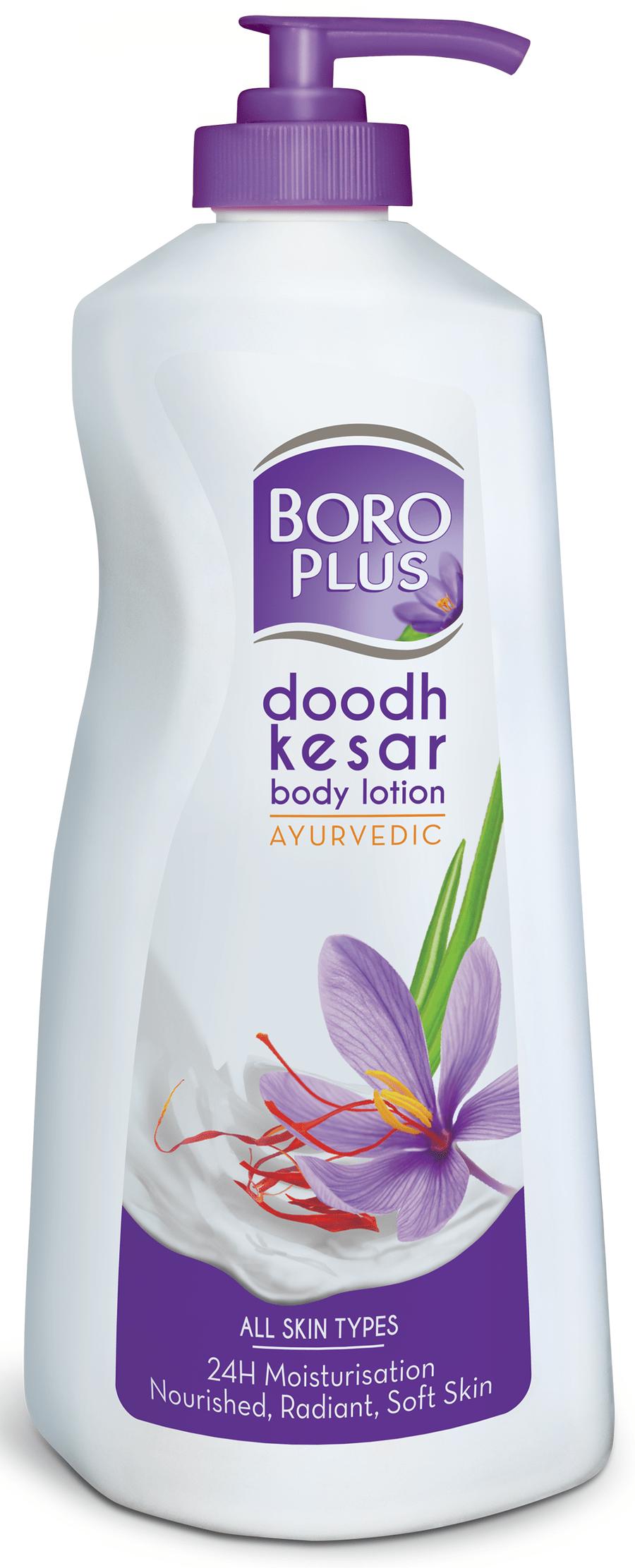 Boro Plus Doodh Kesar Body Lotion - 400ml