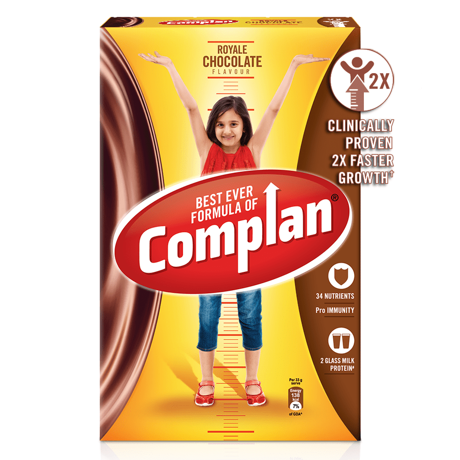 Complan Growth Drink Mix, Royale Chocolate – 750g Pack