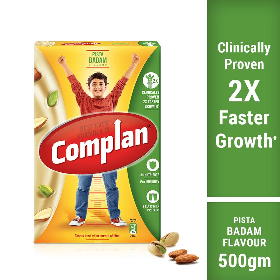 Complan Pista Badam Flav Powder Refill 500gm