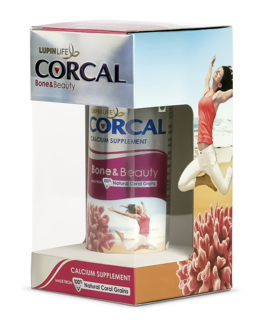 Corcal Bone And Beauty Calcium Supplement Tab 50s