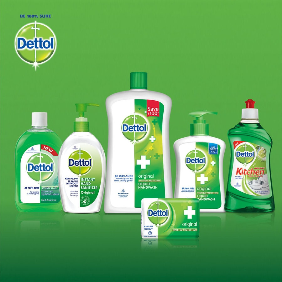 Dettol Germ Protection Handwash Refill, Skincare - 175ml (pack Of 3)