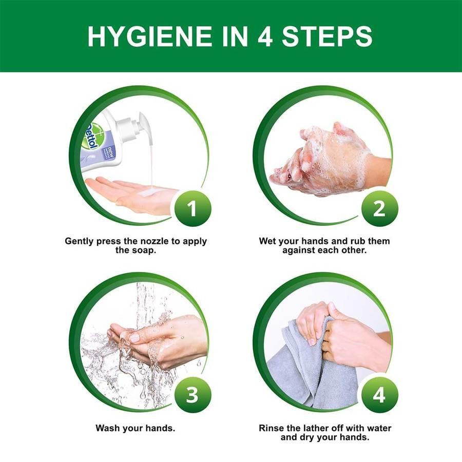 Dettol Ph-balanced Liquid Handwash Pump, Sensitive- 200 Ml
