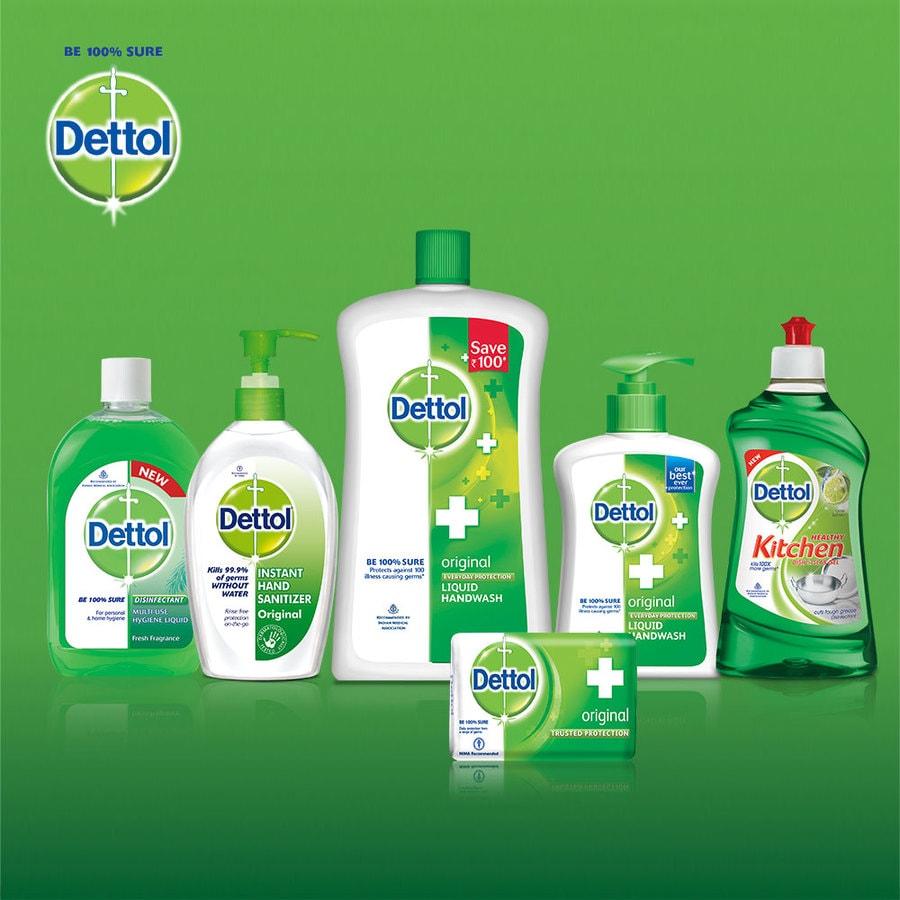 Dettol Liquid Handwash Pump, Original- 200 Ml