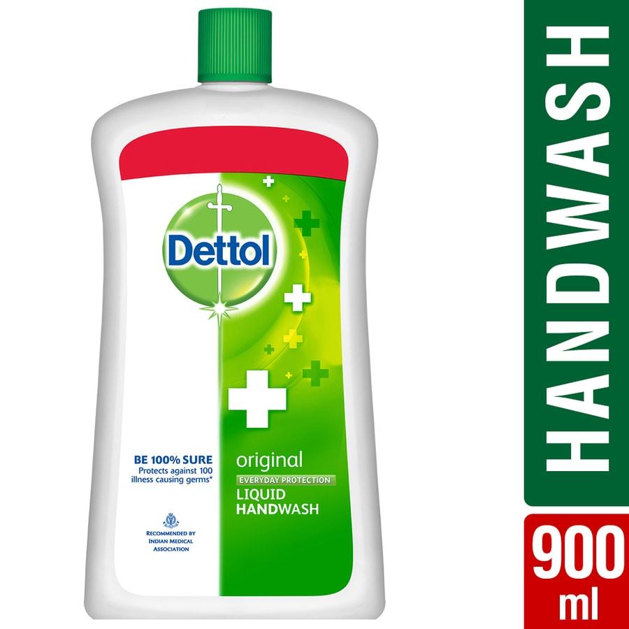 Dettol Liquid Handwash Refill Jar, Original- 900ml