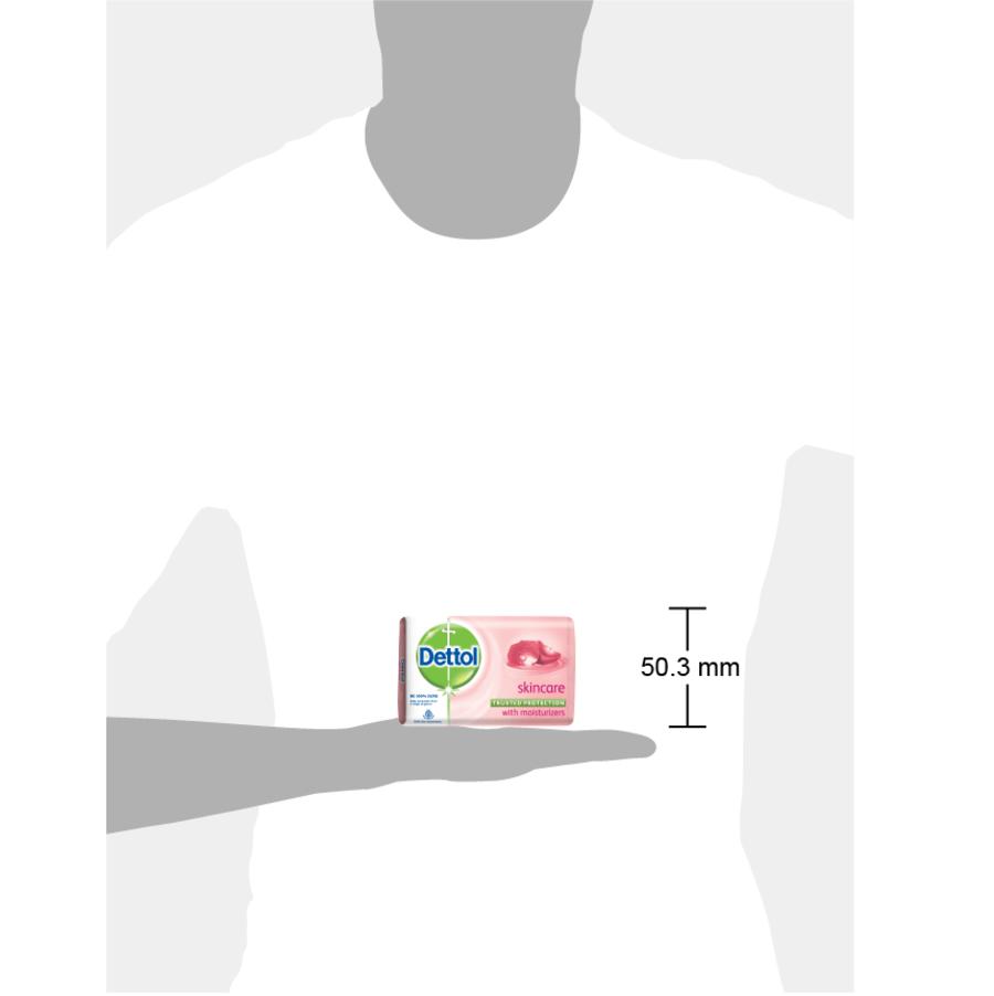 Dettol Bathing Bar Soap, Skincare- 75g (pack Of 4)