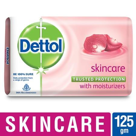 Dettol Germ Protection Bathing Bar Soap, Skincare- 125g