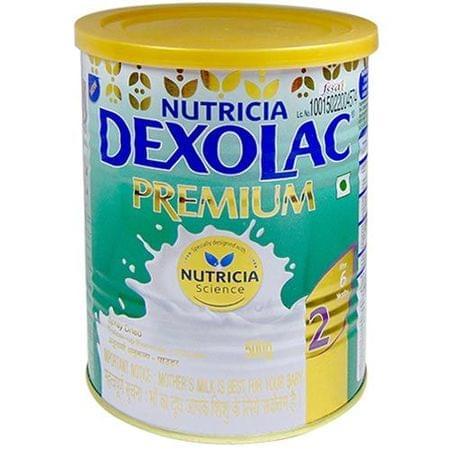 Dexolac Premium 2 Follow-up Formula (after 6 Months) Tin - 500gm