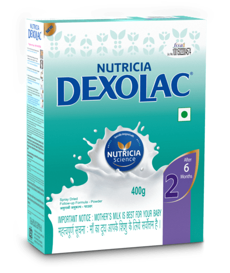 Dexolac Stage 2 Follow-up Formula (after 12 Months) Refill - 400gm