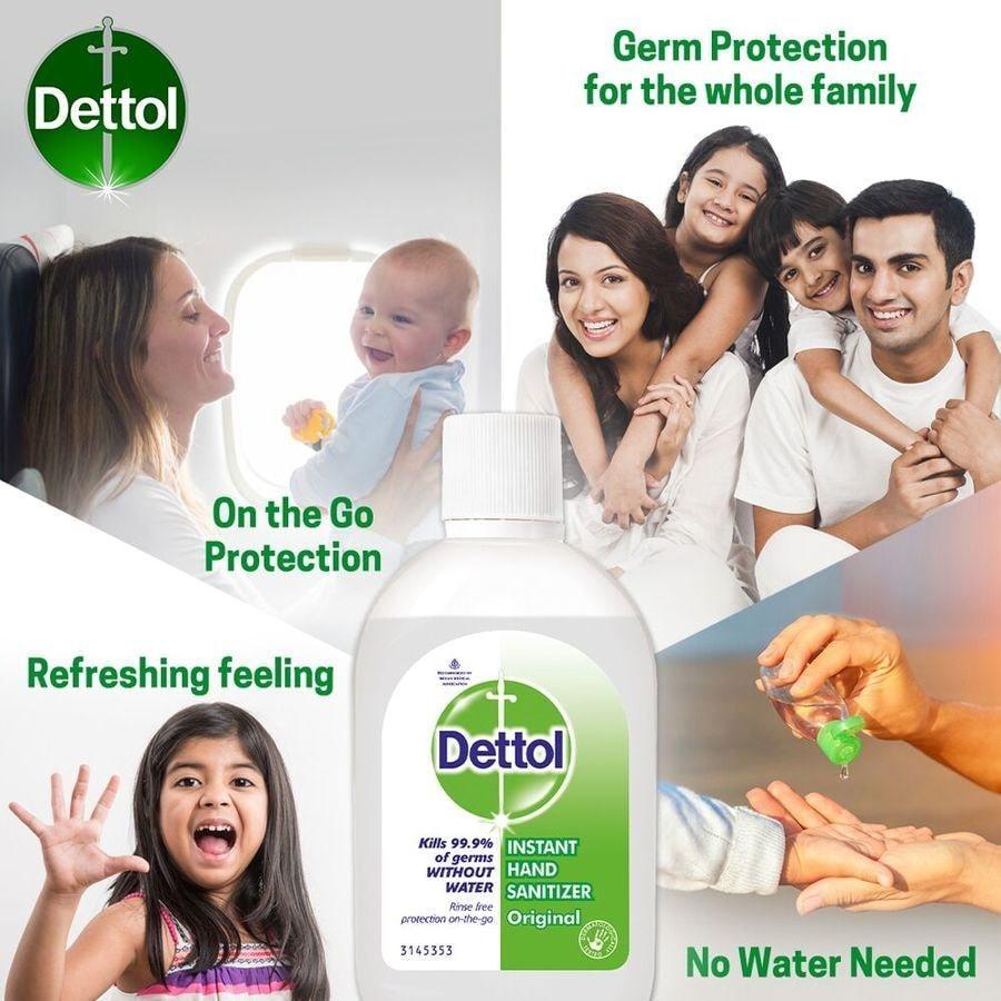 Dettol Instant Hand Sanitizer - 60ml