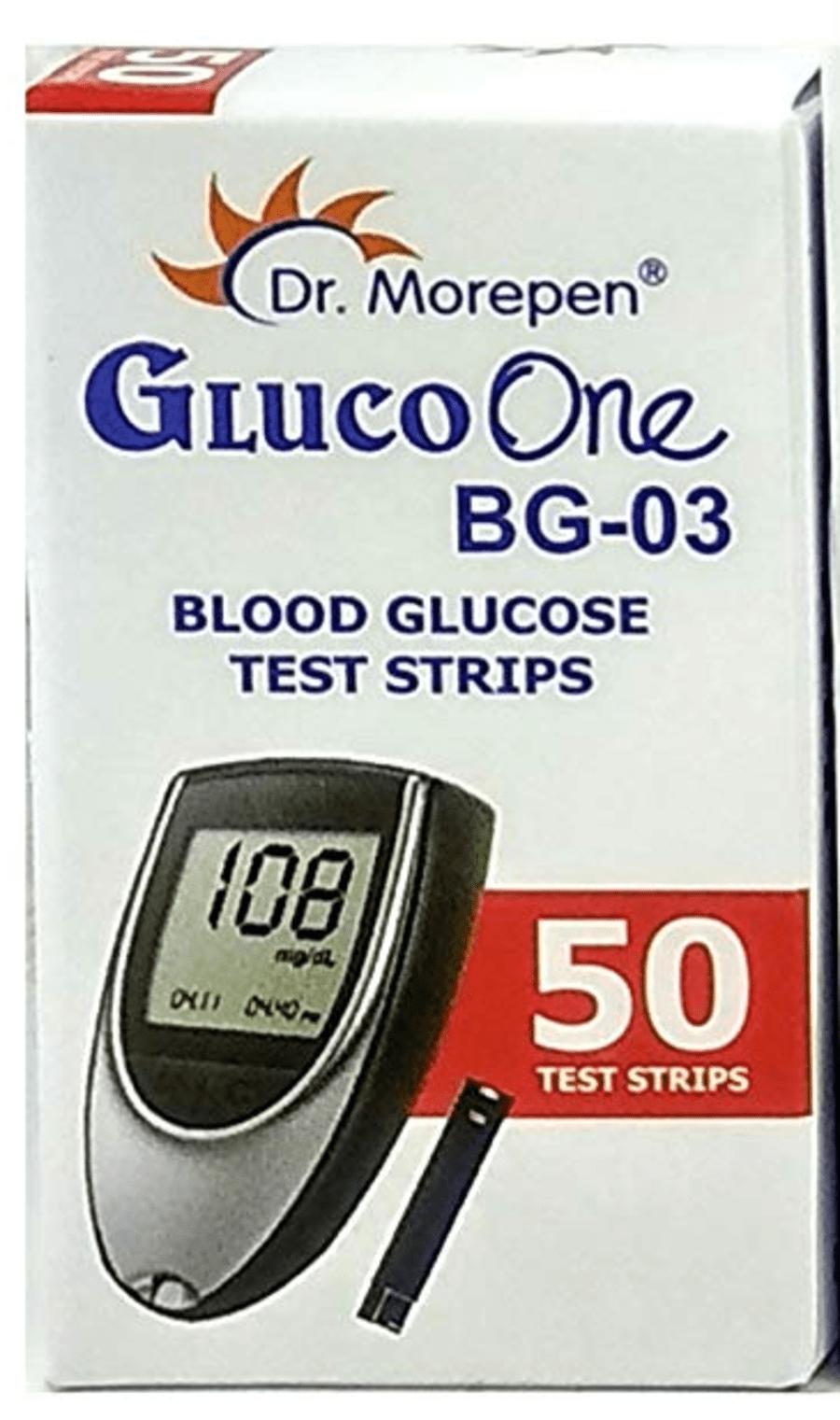 Dr Morepen Bg 03 50 Strips
