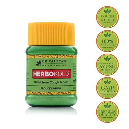Dr. Vaidya's Herbokold Powder Pack Of 2 (100 Gms) (medicines For Cold)