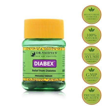 Dr. Vaidya's Diabex Pills Pack Of 2 (60 Pills)