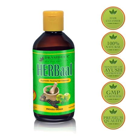 Dr. Vaidya's Herbal Hair Cleanser (200 Ml) (herbal Shampoo)
