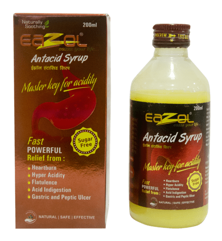Eazol Antacid Syrup 200 Ml