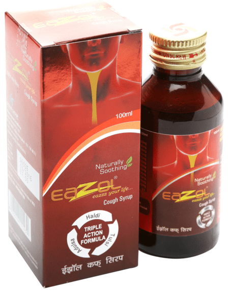 Eazol Cough Syrup 100ml
