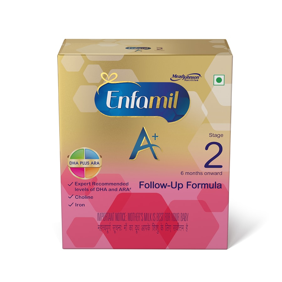 Enfamil A+ Stage 2: Infant Follow-up Formula (6 To 12 Months) - 800gm Refill
