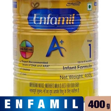 Enfamil A+ Stage 2: Infant Follow-up Formula (6 To 12 Months)- 400g