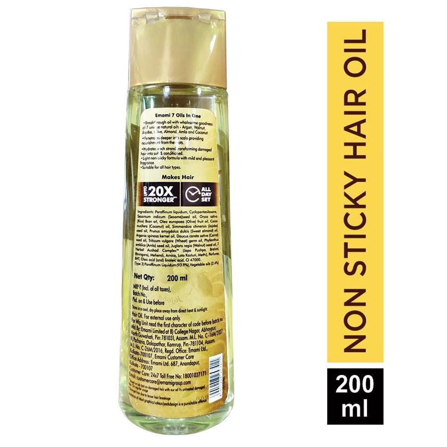 Emami 7 Oils In One - 200ml