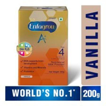 Enfagrow A+ Stage 4: Nutritional Milk Powder (2 Years And Above) Chocolate - 200gm Refill