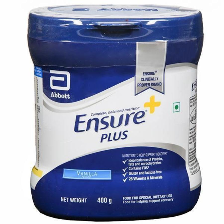 Ensure Plus Vanilla Powder Jar 400gm
