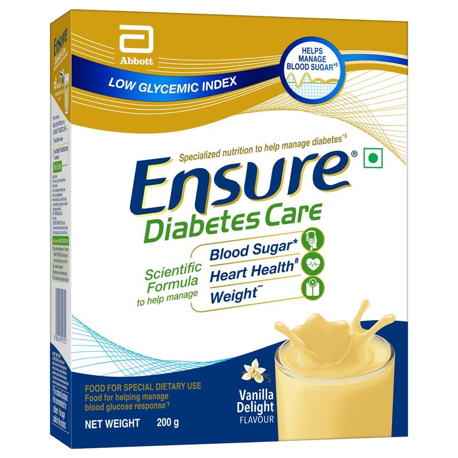 Ensure Diabetes Care Vanilla Delight Sugar Free Refill - 200gm