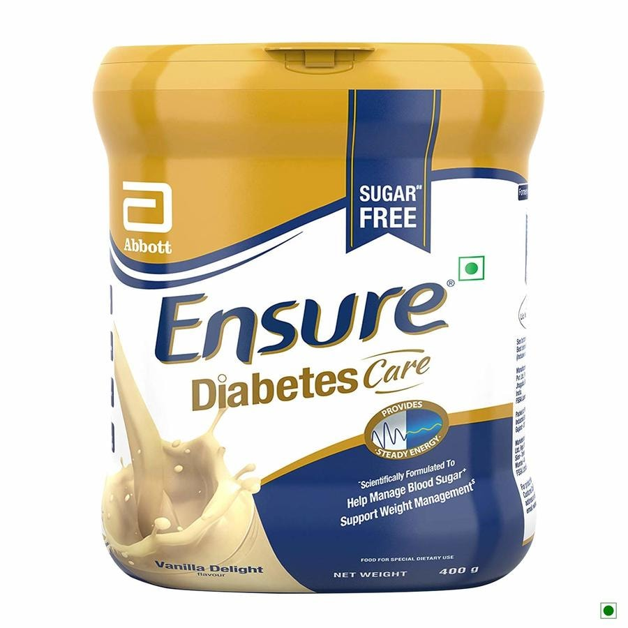 Ensure Diabetes Care Vanilla Sf Jar - 400gm