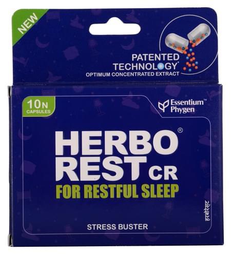 Herborest Cr Herbal Restful Sleep Capsules (10 Capsules)