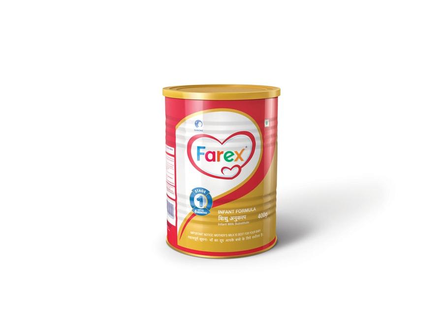 Farex Stage 1 Infant Formula - 400gm Tin