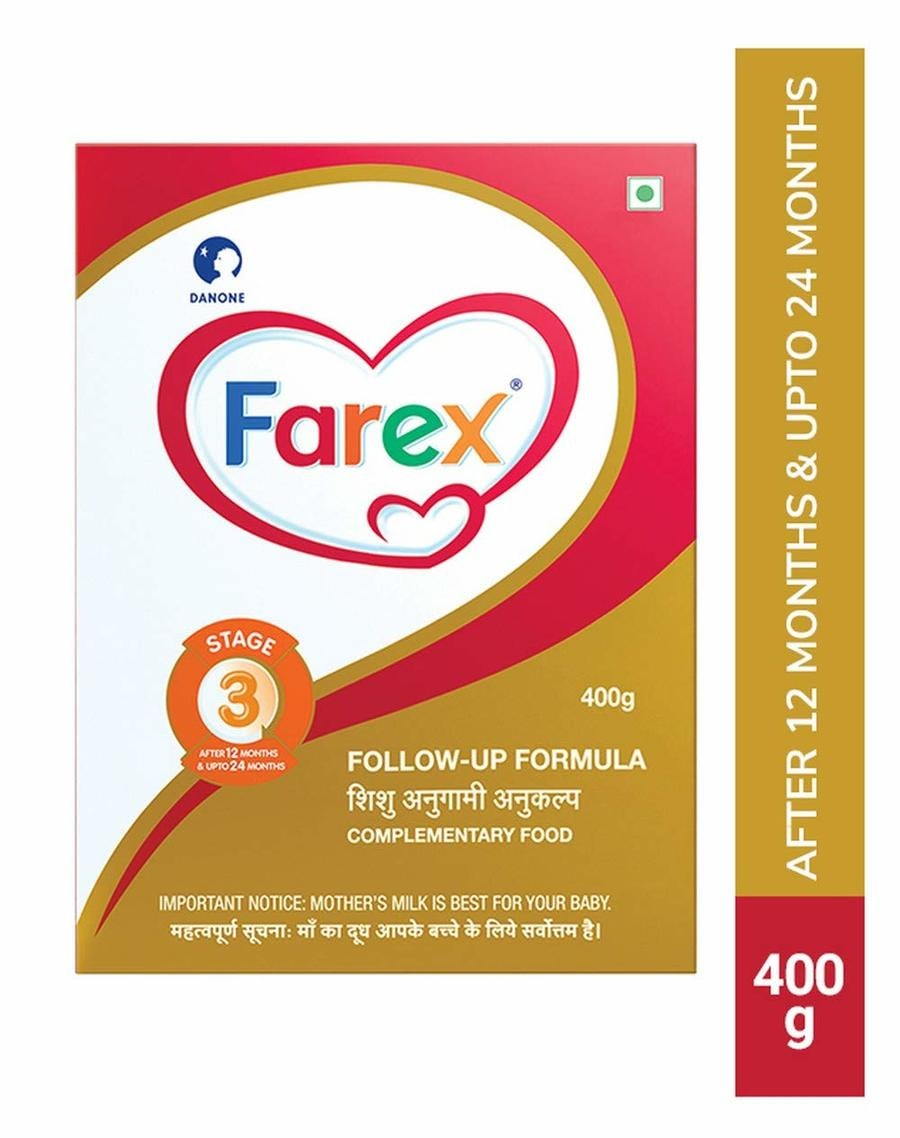 Farex Stage 3 Follow-up Formula - 400gm Refill
