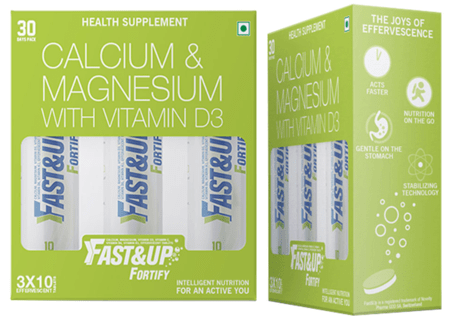 Fast&up Fortify - Pack Of 3 Tubes - Lime And Lemon Flavor