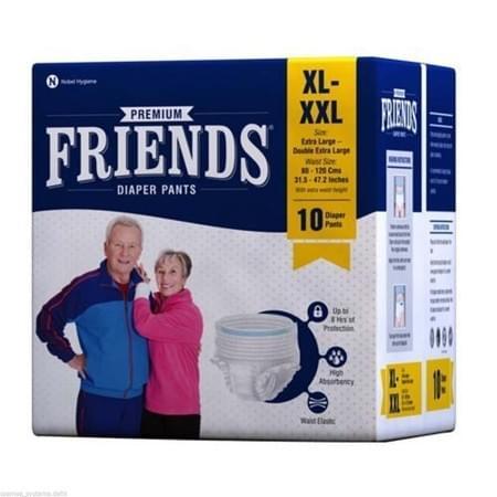 Friends Diaper Pants Xl-xxl, Pack Of 10 (pull Ups)