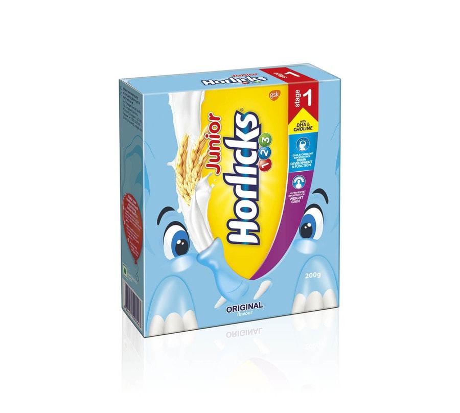 Junior Horlicks Stage 1 (2-3 Years) - Health & Nutrition Drink (original Flavor) 500gm Refill Pack