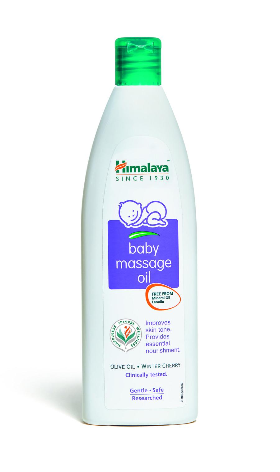 Himalaya Baby Massage Oil 200ml