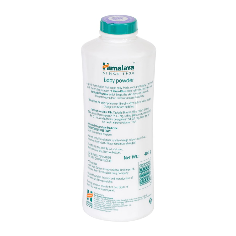 Himalaya Baby Powder 400 Gm