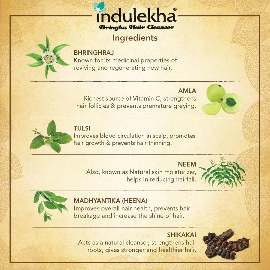 Indulekha Bringha Hair Cleanser (200ml )