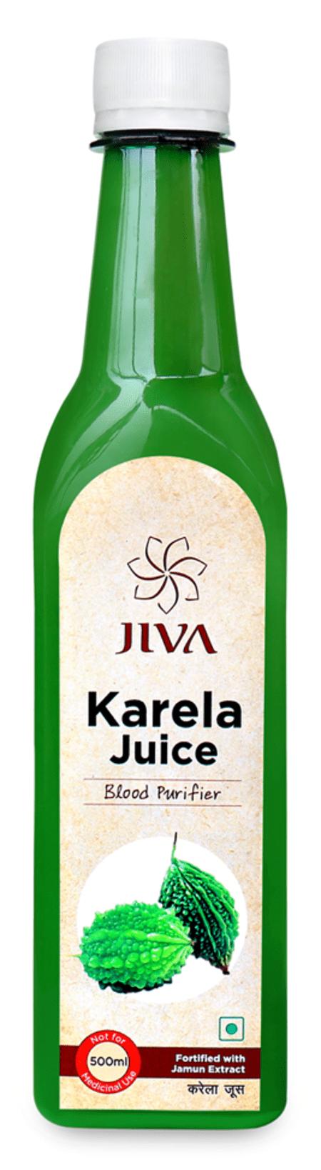 Jiva Karela Jamun Plus Juice (500 Ml)