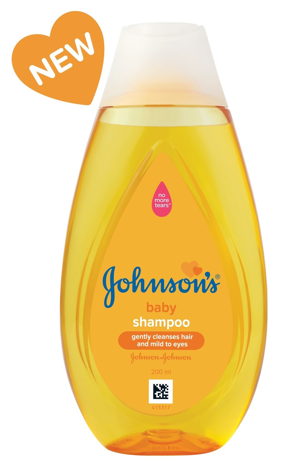 Johnson's Baby Shampoo No More Tears 200 Ml