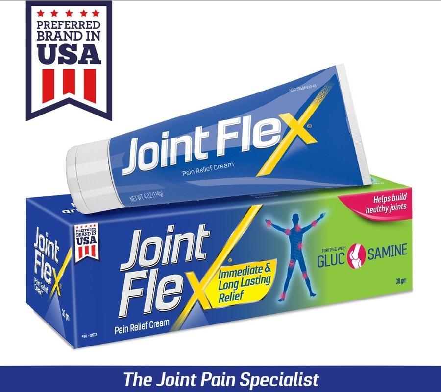 Jointflex - Joint Pain Relieving Cream - 90gm Pack Of 3