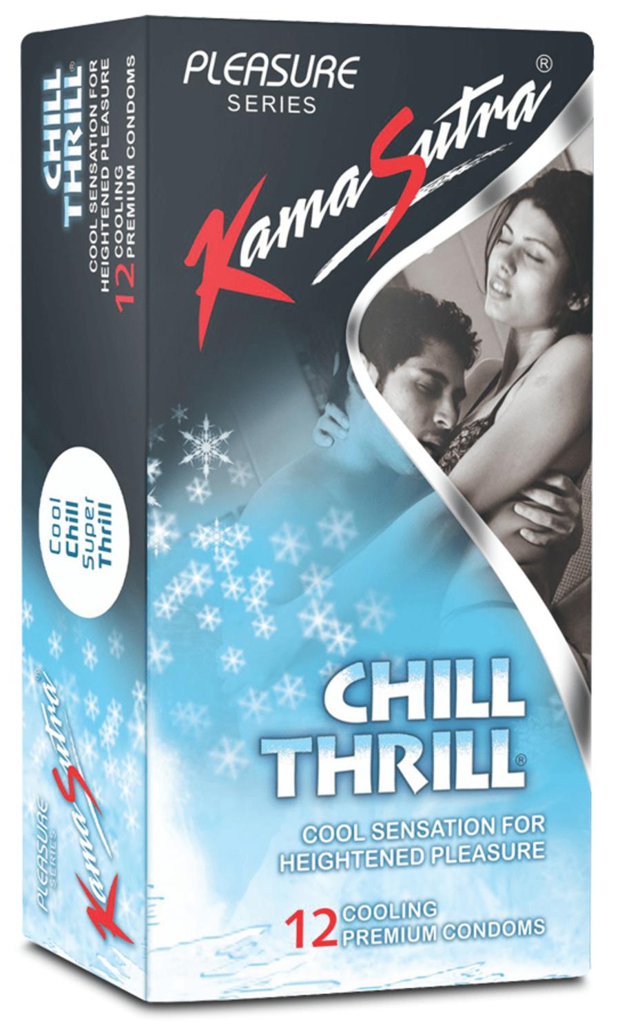 Kamasutra Chill Thrill 12 Condoms